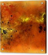 Space012 Acrylic Print by Svetlana Sewell