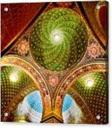 Spanish Synagogue Acrylic Print by John Galbo
