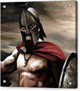 Spartan Acrylic Print by James Shepherd