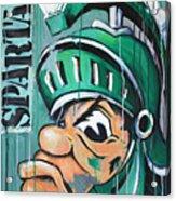 Spartans Acrylic Print by Julia Pappas