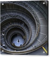 Spiral Staircase Acrylic Print by Maico Presente