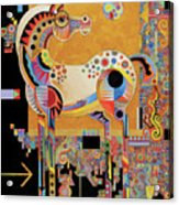 Spirit Stallion Acrylic Print by Bob Coonts