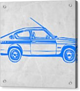 Sports Car Acrylic Print by Naxart Studio