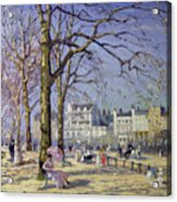 Spring In Hyde Park Acrylic Print by Alice Taite Fanner