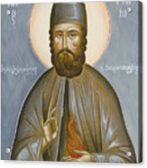 St Efraim Of Nea Makri Acrylic Print by Julia Bridget Hayes