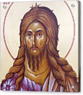 St John The Forerunner And Baptist Acrylic Print by Julia Bridget Hayes