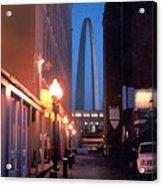 St. Louis Arch Acrylic Print by Steve Karol