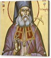 St Luke The Surgeon Of Simferopol Acrylic Print by Julia Bridget Hayes