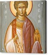 St Stephen II Acrylic Print by Julia Bridget Hayes