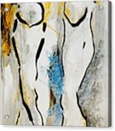 Stand Up Acrylic Print by Gerusa Bernardes
