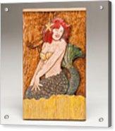 Star Mermaid Acrylic Print by James Neill