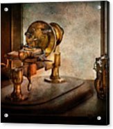 Steampunk - Gear Technology Acrylic Print by Mike Savad