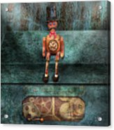 Steampunk - My Favorite Toy Acrylic Print by Mike Savad