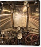 Steampunk Time Machine Acrylic Print by Keith Kapple