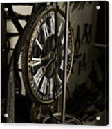 Steampunk - Timekeeper Acrylic Print by Paul Ward