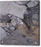 Step On A Crack 2 Acrylic Print by Anna Villarreal Garbis
