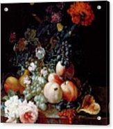 Still Life  Acrylic Print by Johann Amandus Winck