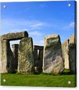 Stonehenge No 1 Acrylic Print by Kamil Swiatek