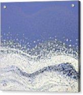Storm At Sea Acrylic Print by Bonnie Bruno