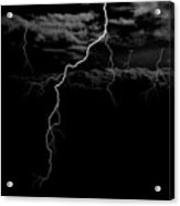 Stormy Night Acrylic Print by Brad Scott