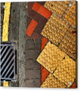 Street Abstract Acrylic Print by Joe Bonita