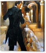 Study For Last Dance 2 Acrylic Print by Stuart Gilbert