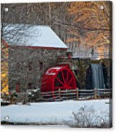 Sudbury Gristmill Acrylic Print by Susan Cole Kelly