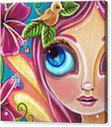 Summer Bliss Fairy Acrylic Print by Jaz Higgins