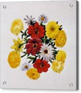 Summer Bouquet Acrylic Print by Dy Witt