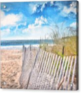 Summer Time Acrylic Print by Gina Cormier