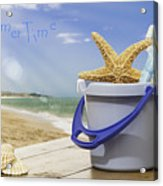 Summer Vacation Acrylic Print by Amanda Elwell