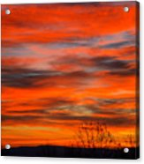 Sunrise In Ithaca Acrylic Print by Paul Ge