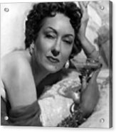Sunset Boulevard, Gloria Swanson, 1950 Acrylic Print by Everett