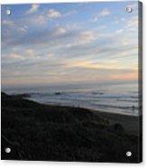 Sunset Surf Acrylic Print by Linda Woods