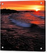 Superior Sunrise 2 Acrylic Print by Larry Ricker