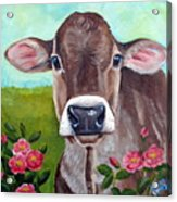 Sweet Matilda Acrylic Print by Laura Carey