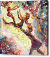 Swinging High Acrylic Print by Naomi Gerrard
