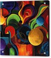 Synergy Acrylic Print by Laura Swink