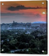 Syracuse Sunrise Acrylic Print by Everet Regal