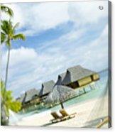 Tahiti, Bora Bora Acrylic Print by Kyle Rothenborg - Printscapes