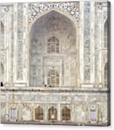 Taj Mahal II Acrylic Print by Nina Papiorek