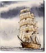 Tall Ship Adventure Acrylic Print by James Williamson