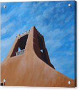 Taos Memory Acrylic Print by Hunter Jay