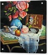 Tea Time Acrylic Print by Robert Carver