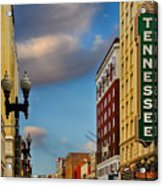 Tennessee Theatre Acrylic Print by Steven  Michael