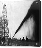 Texas: Oil Derrick, C1901 Acrylic Print by Granger