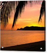 Thailand, Koh Pagan Acrylic Print by William Waterfall - Printscapes