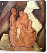 Thanks Acrylic Print by Emmanuel Baliyanga