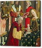 The Adoration Of The Magi Acrylic Print by Absolon Stumme