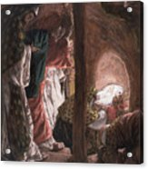 The Adoration Of The Wise Men Acrylic Print by Tissot